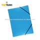 Topteam 4 Plastic PP File Conference Folder With Elastic Band