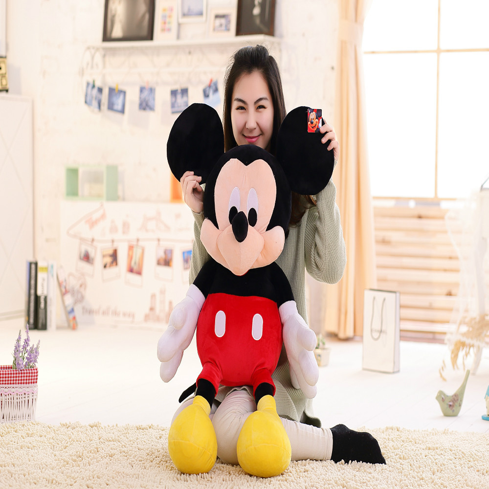 45/70/90/120/140cm Custom made cute plush toy mickey mouse, stuffed soft mickey mouse plush dolls toy