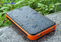 waterproof Products for 2015 Solar Power Bank 20000MAH for iPhone Powerbank for Tablet