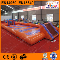 2015 Promotion inflatable water football pitch for sale