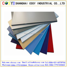 Hot sale size 5mm aluminum composite panel /ACP sheet 1.22*2.44m