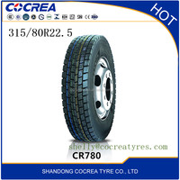 ALLROUND brand China top quality truck tyres 315/80r22.5 suitable for driving wheel tyre