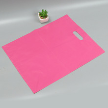 New product arrival free sample heavy duty plastic cut die packaging bag promotion