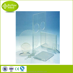Medical X-ray Protect Lead Glass