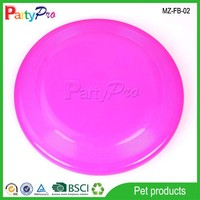 2015 Pet Game Tools Spin Disk Toy Frisbee Golf Plastic Flying Disc