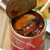 425g canned mackerel fish in tomato sauce for Africa