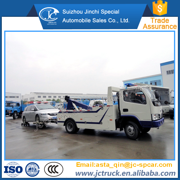 High Quality 4WD tow truck trailer truck Transporter towing for sale Road-block removal truck supplier
