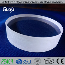 high temperature sight glass quartz plate for window