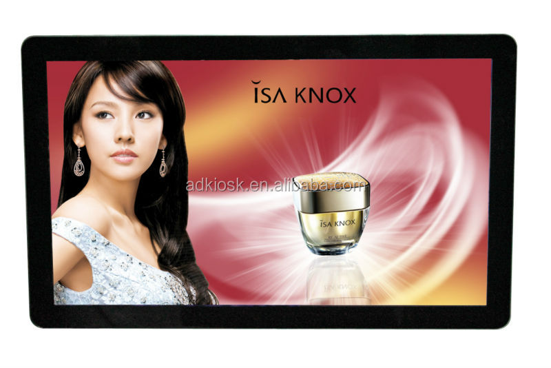 22inch taxi lcd digital hd media player advertising equipment