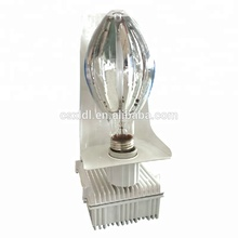 Commercial greenhouse electronic ballast hid lamp grow light fixture internal reflector fixture