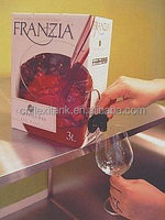 Bag in Box with Spout for Red Wine 1-220L