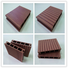 Water Proof Wood Plastic Composite Decking Floor WPC