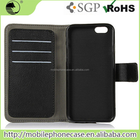 Classic PU Leather Wallet Mobile Phone Case for iPhone 6s With Card Slots