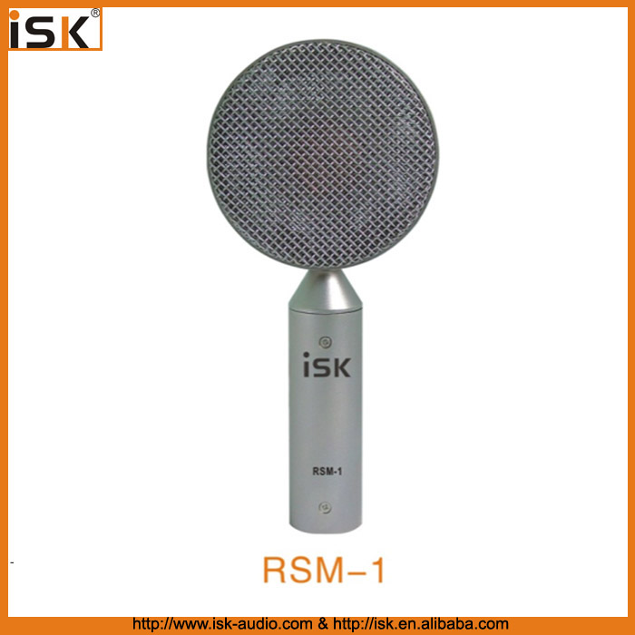 Unique Style Ribbon Microphone with shock mount RSM-1