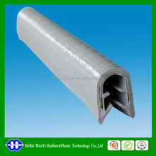 Rubber Trim seal, White Edge Trim Permanent Grip