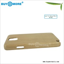 metal case for samsung galaxy s4 mini wood+pc factory price