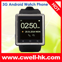 MTK6577 Dual Core ZGPAX S6 Android Smart Watch Phone with 2.0 MP camera