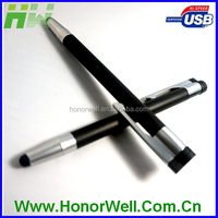 new model pen shape usb flash stick disk pen drive customized logo for gift or use