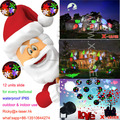 outdoor yard decoration christmas light Multi Slides Landscape Led Light Show
