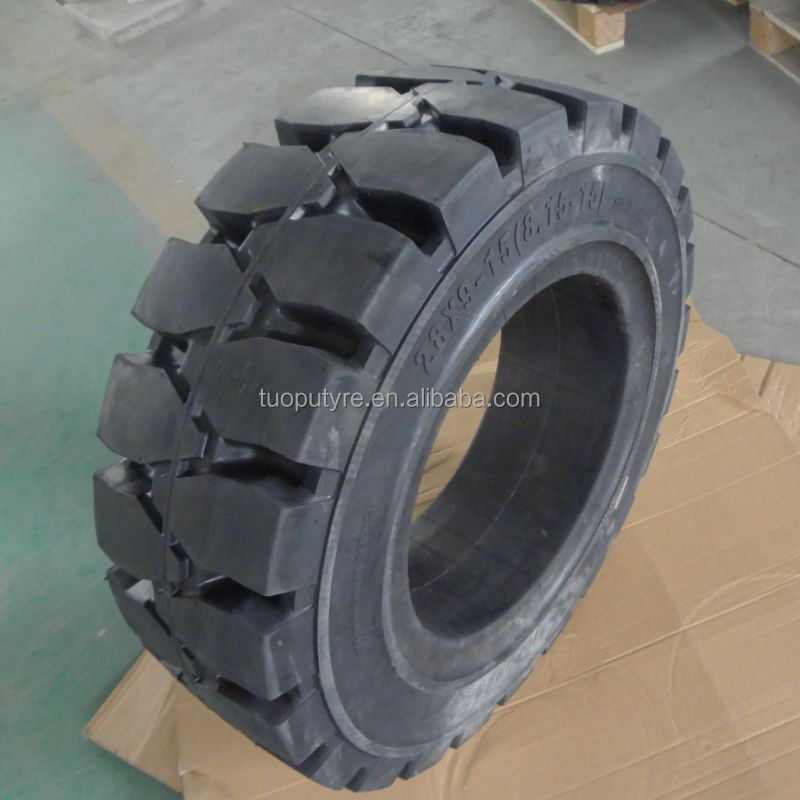 forklift pneumatic and resilient solid rubber tire 8.15-15 manufacturer