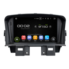 Support original car rear camera and amplifier and USB android 7.1.2 car stereo system for CRUZE 2008-2011