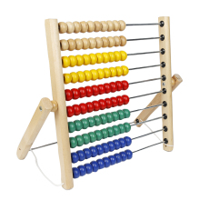 montessori wooden educational toys wooden abacus toy for kids Calculate Counting Frame