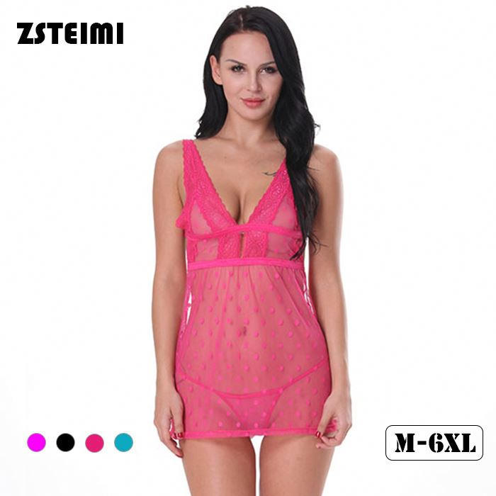 Zsteimi Oem Quality Plus Size Sheer Japan Babydoll Sexy Adult Lingerie