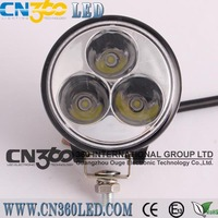 9W IP67 best Chip high bright LED Work Light for komatsu