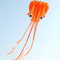Soft octopus kites