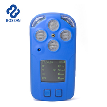 Large LCD screen multi gas detector without remote control,detecting co,NO, NO2.Ozone,H2S, combustible gas and etc.