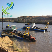 2017 Factory direct sales sand dredger uesd in the river price