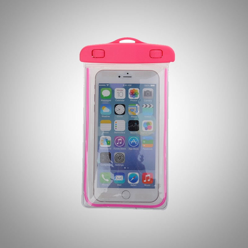 wholesale strong sealed pvc eva clear water proof phone bag