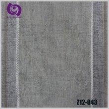 Hight Quality Nature Textile Poly Linen Curtain Fabric for Sale