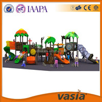 Leader manufacturer factory price standard costomized kids outdoor playground equipment with One-stop Solution