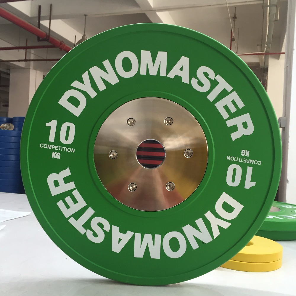 Dynomaster Rubber Weight Plates / Elite Rubber Weight Plates/ IWF Competition Weight Plates