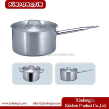 YK03A-120 Deep milk boiling pot/stainless steel sauce pan/stainless steel milk pot