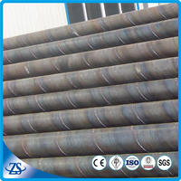 double-side spiral submerged-arc welded steel pipe for oil and gas manufacturing