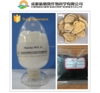 Natural plant extract Matrine 4% for organic pesticide
