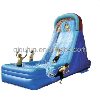 Amusement park playground equipment giant inflatable water slide for adult