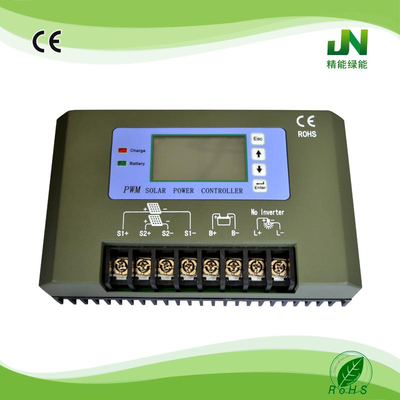 JC economical 30a 40a 50a 60a solar controller with LCD display for automatic shower controller