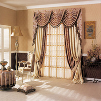 New luxury hotel curtains hotel drapes
