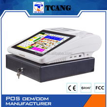 Tuocang TA-TOUCH1208 Let You Get More Profit All-in-one full pos systems for museum