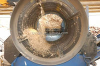 Rotary Drum Trommel Screen rolling cylinder sieve