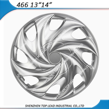 ABS 13 inch 14 inch Silver Finish Plastic Car Wheel Covers . Universal Design Car Wheel Caps . Plastic Hub Cap for Car Using