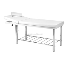 Hot Treatment Table Bed With White Color For Cosmetic Spa Massage Facial Care Table Bed