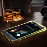 TPU Pc Hybrid Incoming Call Led case Funky Mobile Phone Case Cover For Iphone 6 6s