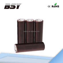 Best price !! LG HG2 18650 li-ion battery LG HG2 20a discharge 300mah high drain battery
