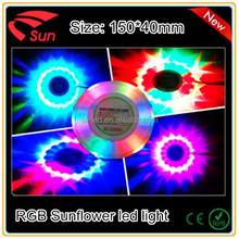 New Design 48 LED Mini Voice-Activated Flashing sunflower LED light