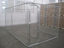 High quality large dog run chain link animal cage/soft portable garden dog fence panel