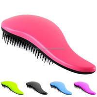 High Quality for personal Girls hair care Salon soft touch feeling detangling Bristle hair brush